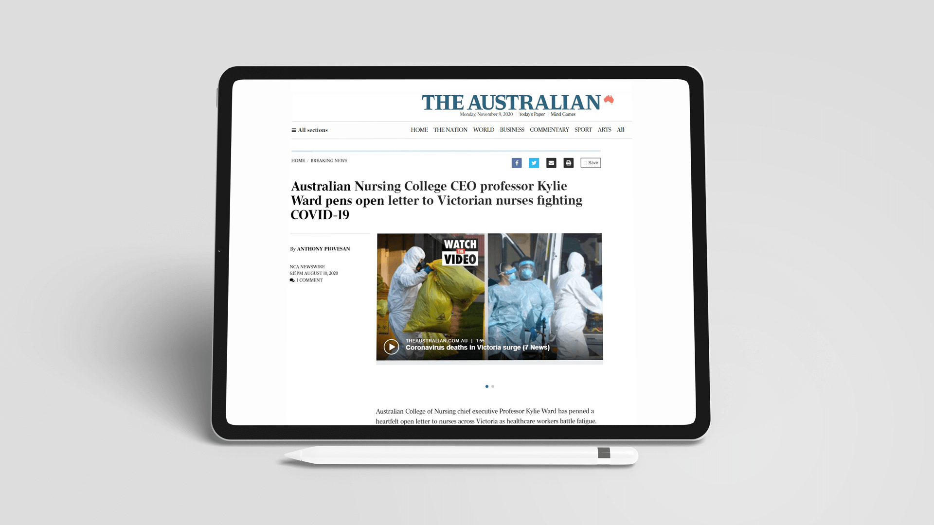 Australian College of Nursing - Zadro Agency