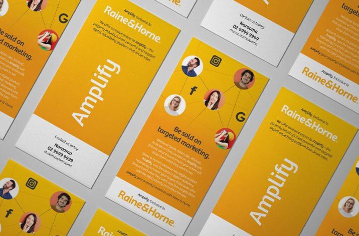 Raine & Horne Amplify - Zadro Agency