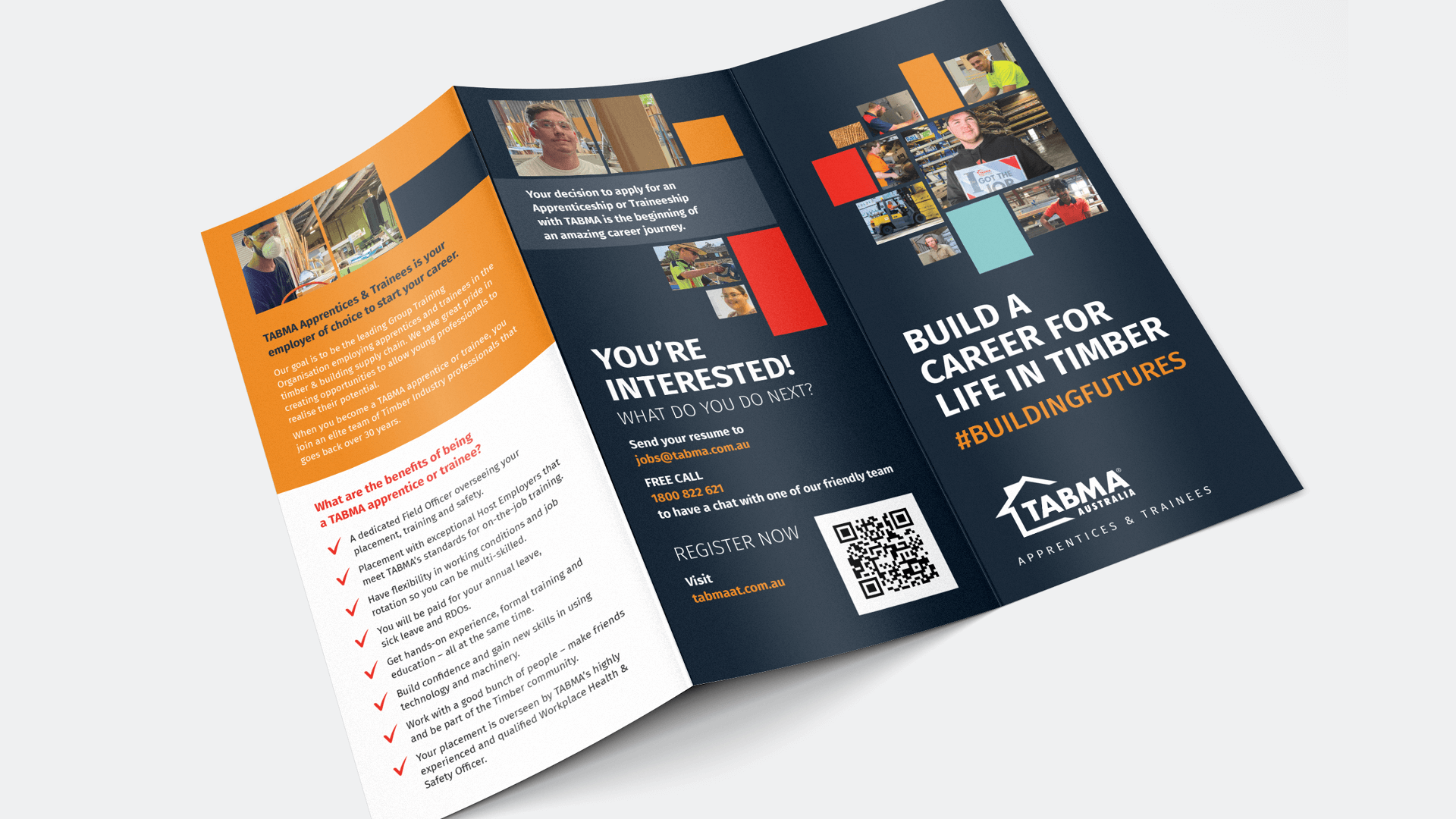 TABMA Apprentices Campaign – Building a Career for Life in Timber - Zadro Agency